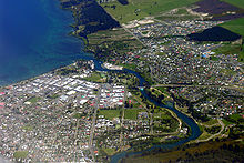 Lake Taupo and Waikato River aerial view.jpg