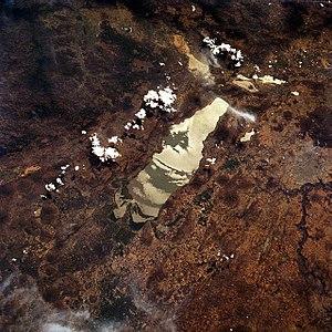 Lake Chapala - Lake Chapala from space, 1994