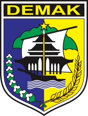 Demak Regency - Image: Lambang Kabupaten Demak