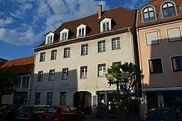 Kleiner Platz in Landau in der Pfalz