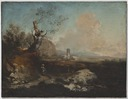Landscape with a Tower (Alessio de Marchis) - Nationalmuseum - 22301.tif
