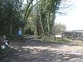 Lane junction near Millfields Farm - geograph.org.uk - 1778043.jpg