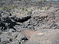 Large Lava Crater Created By McCarty's Volcano 3 Thousand Years Ago (2386889688).jpg