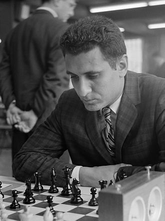 Larry Evans (chess grandmaster) - Larry Evans in 1964