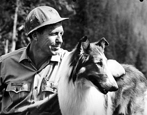 Robert Bray - Image: Lassie with actor Robert Bray