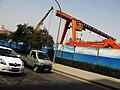 Lattice lift of a construction site - panoramio.jpg