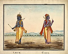 Lava and Kusa, the sons of Rāma..jpg