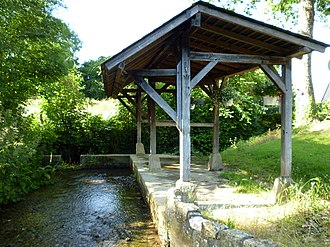 Freneuse-sur-Risle - The washhouse in Freneuse-sur-Risle