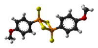 3D model of the Lawesson's reagent molecule