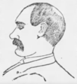 Lawrence A. Yore sketch, Chicago Tribune, 1887.png