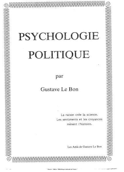 File:Le Bon - Psychologie politique et défense sociale.djvu