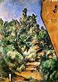 Le Rocher rouge, par Paul Cézanne, Yorck.jpg