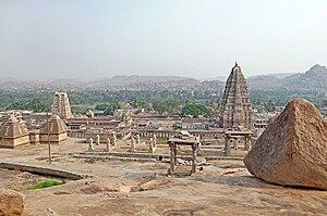 Hampi - Virupaksha temple at Hampi