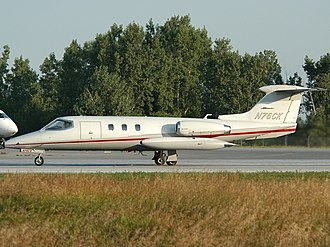 Learjet 25 - Learjet 25 about to take-off