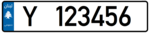 Lebanon - License Plate - Private Aley - EU Size.png