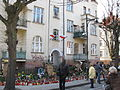 Lech Kaczynski ex-house Sopot after death April 11th 2010 a.JPG