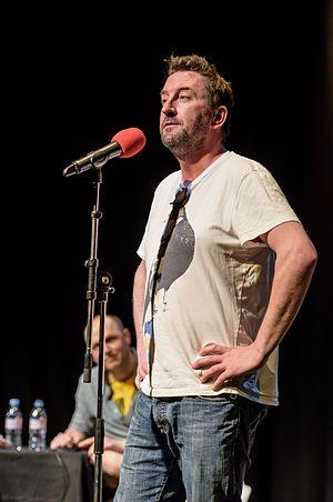 Lee Mack - Mack at Radio 4's Don't Make Me Laugh in 2015