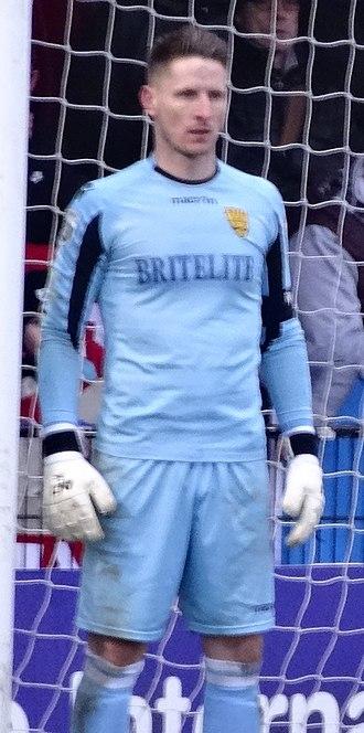 Lee Worgan - Worgan playing for Maidstone United in 2017