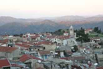 Pano Lefkara - Image: Lefkara view