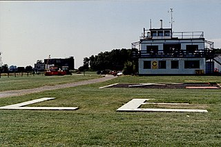 Leicester Airport small aerodrome in Stoughton, Leicestershire, England