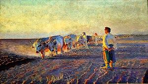 Leon Wyczółkowski - Image: Leon Wyczółkowski 'Orka na Ukrainie'