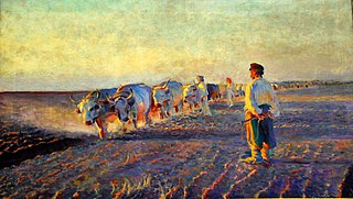 Ploughing in Ukraine