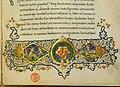 Leonardo bruni, traduzione dell'etica nicomachea di aristotele, firenze 1450-75 ca. (bml, pluteo 79.6) 04 stemma medici.jpg