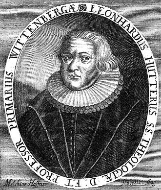 Leonhard Hutter - Leonhard Hutter