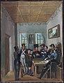 Leopold Puellacher, Franz Raffl verrät das Versteck des Andreas Hofer, 1820.jpg