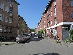 Leostraße in Münster