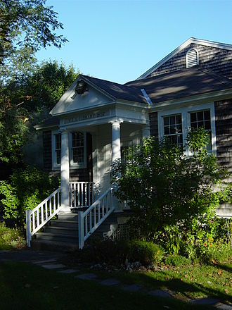 Eastham Public Library - Image: Library front view