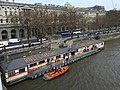 Lifeboats on the Thames near Somerset House, London.jpg