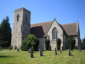 Lilley, Hertfordshire - Image: Lilley The Church of St Peter's geograph.org.uk 202359