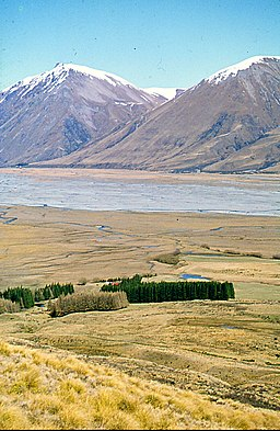 Lilybank Station and the Godley River, 1977.jpg