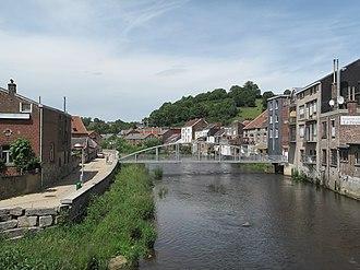 Limbourg - Image: Limbourg, de Vesder in de stad foto 1 2012 06 28 14.41