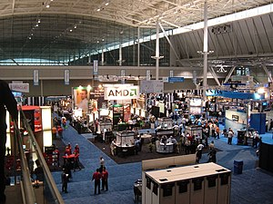 Boston Convention and Exhibition Center - Image: Linux World Boston 2006.agr