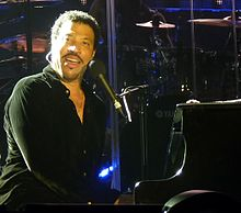 Lionel Richie performing on his sold-out 2011 Australian and New Zealand Concert Tour