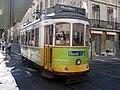 Lisbon tram in Baixa Chiado.jpg