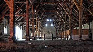 Ter Doest Abbey - Inside the barn