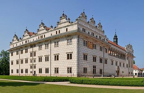 Chateau Litomyšl (Leitomischl), Czech Republic