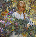 Lluís Graner i Arrufí - A Girl with Flowers.jpg