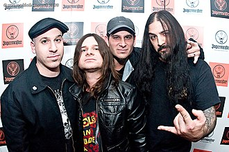 Heavy metal genres - Alternative metal band Life of Agony.