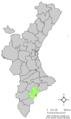 Localització de Sant Joan d'Alacant respecte el País Valencià.png
