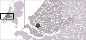 Geervliet - Image: Locatie Bernisse