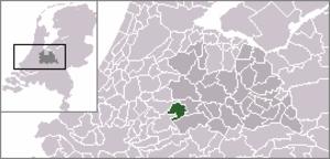 Hekendorp - Image: Locatie Oudewater
