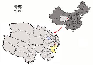 Jainca County County in Qinghai, China