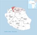 Locator map of Kanton Saint-Denis-2 2018.png