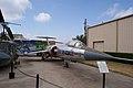 Lockheed F-104A Starfighter RSideFront CFM 7Oct2011 (15302115336).jpg