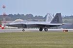 Lockheed Martin F-22A Raptor '05-086 TY' (30620664730).jpg