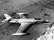 Lockheed XF-90 parked